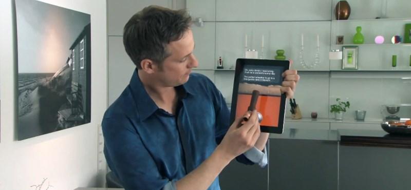Az iPad 3 varázslatos újdonságai: a végtelenített nagyítástól a csordogáló sörig [videó]