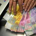 Nem lesz olcsóbb a svájci frank