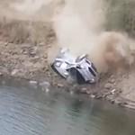 Tóba zuhant egy Ford Fiesta a rali-vb mexikói futamán