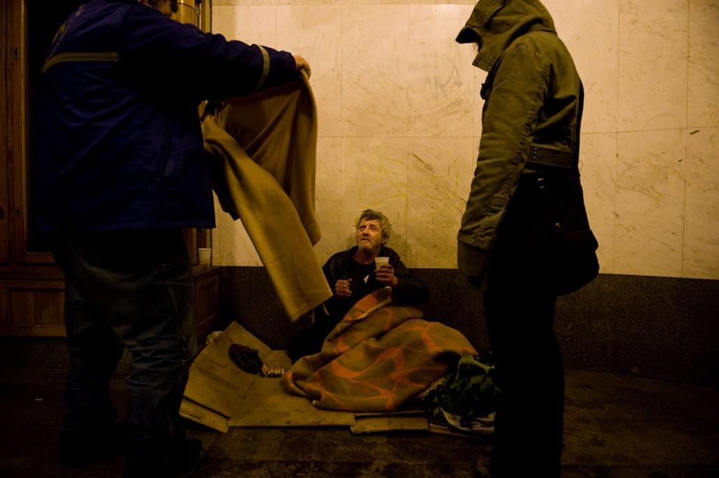 Nagyítás 920 hajléktalan
