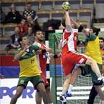 Tizenkét gólos magyar győzelem a brazilok ellen