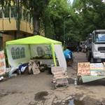 Városliget: a beruházó is elismeri, van még elszállítandó veszélyes hulladék, azaz azbeszt a Ligetben