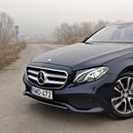 Mercedes E kombi teszt: öltöny és hátizsák