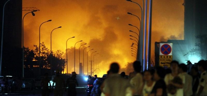 Tiencsini pokol: őrizetbe vették az ipari telep vezetőit