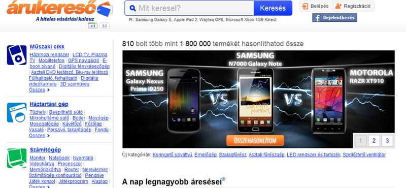 096624427b Vállalkozás: Karanténba küldi az Árukereső a külföldi webáruházakat ...
