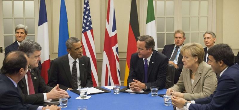 Ukrán elnök: Tűzszünetet rendelek el, ha létrejön a minszki megállapodás