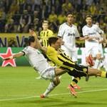 A Dortmund csatára kiütötte a Real Madridot