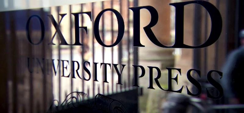 Budapestre jött az Oxford University Press