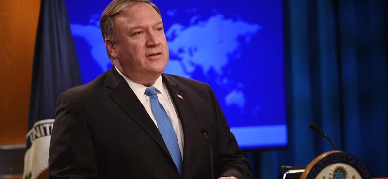 Pompeo: nem javulnak Moszkva és Washington kapcsolatai