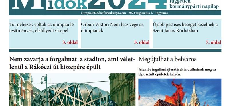 Itt elolvashatja a kétfarkúak olimpiai újságját