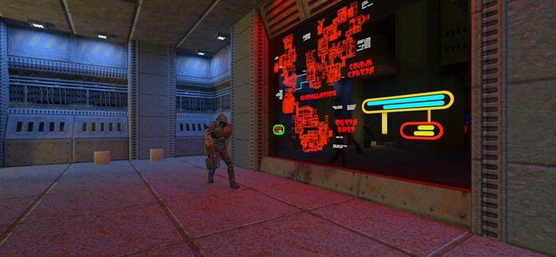 Frissítették a Quake II-t, az eredmény látványos lett
