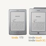 Erősít az Amazon: itt a Kindle Touch és a Kindle Fire