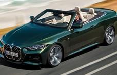 Hagyományos vászontetőre váltott az új BMW 4-es kabrió