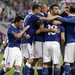 Ezzel a két góllal jutott tovább Olaszország - videó