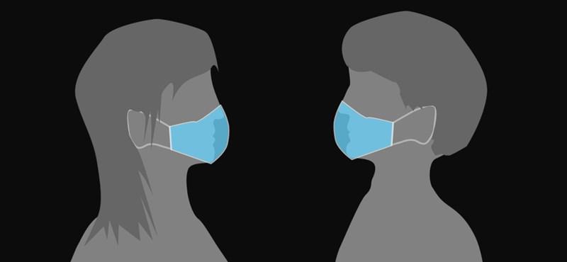 Tesztelték a maszkokat: hatásosabb, ha a beteg hordja
