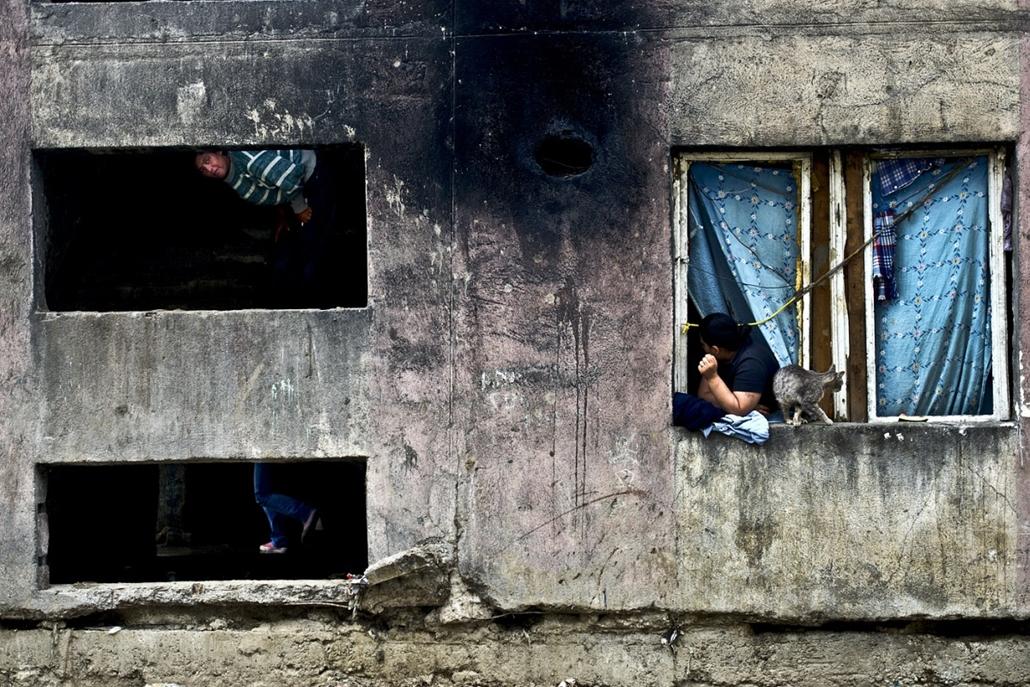 Sajtófotó 2011 - Nagyítás-fotógaléria - Munkácsi Márton díj a legjobb kollekcióért: A nagybányai Bejrút