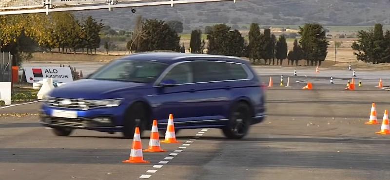 Jávorszarvasteszt: így teljesít az új VW Passat kombi