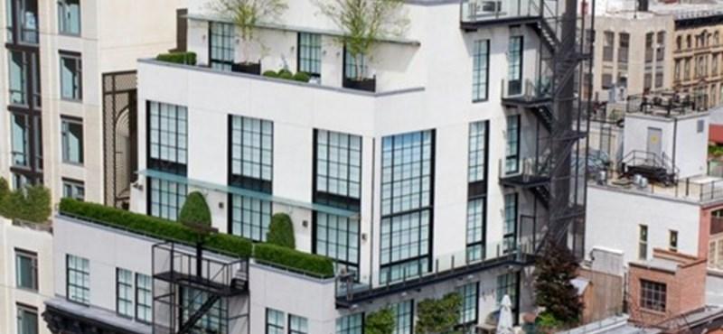 Ilyen egy New York-i luxus penthouse