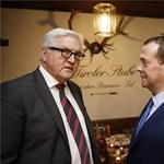 Steinmeier: nincs itt hidegháború, félreértették Medvegyevet