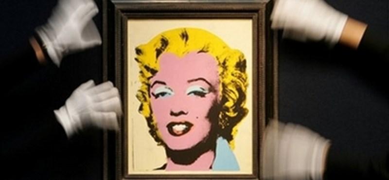 Marilyn Monroe hagyatékát Magyarországon is kiállítják