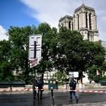 Lövések dördültek a párizsi Notre Dame-nál