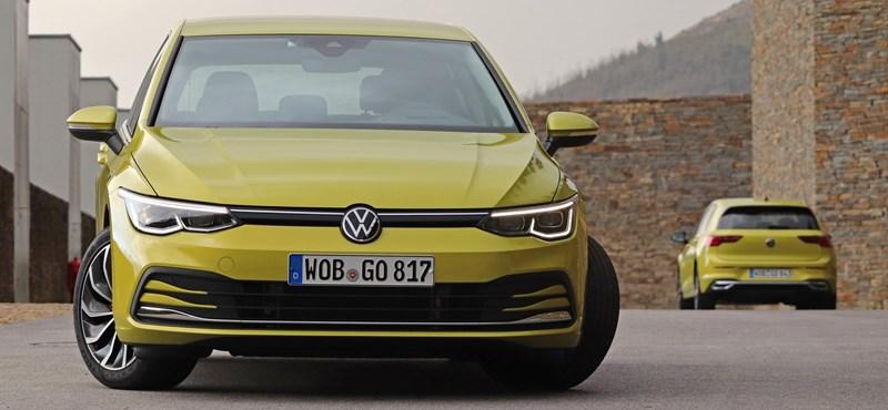 Már itthon is megvásárolható a teljesen új 8-as VW Golf