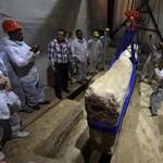 Fotó: 4500 éves hajót restaurálnak Egyiptomban
