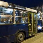Elfajult egy verekedés csütörtök hajnalban a 914A-s buszon