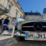 Az 50-es évektől az EQS luxus villanyautóig ívelt át az idei Mercedes Csillagtúra – fotógaléria