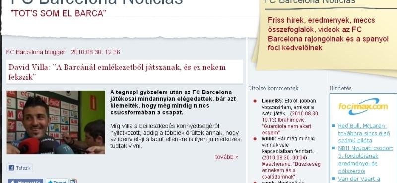 Sztárszélső leigazolását tervezi a Barcelona, a klubja már aggódik