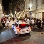 Készenlétisekkel lepi el a rendőrség a bulinegyedet