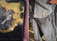 Nadrágzsebben felrobbant iPhone miatt indul per az Apple ellen