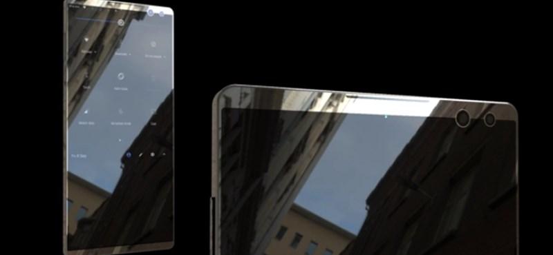 Két kijelző, öt kamera – mit szólna egy ilyen telefonhoz?