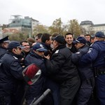 Összecsaptak a rendőrökkel a tüntető diákok Szófiában