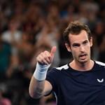 A visszatérő Andy Murray kiemeltet vert Pekingben