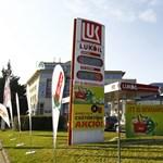 Lukoil benzinkutakon is nyomul a Spar