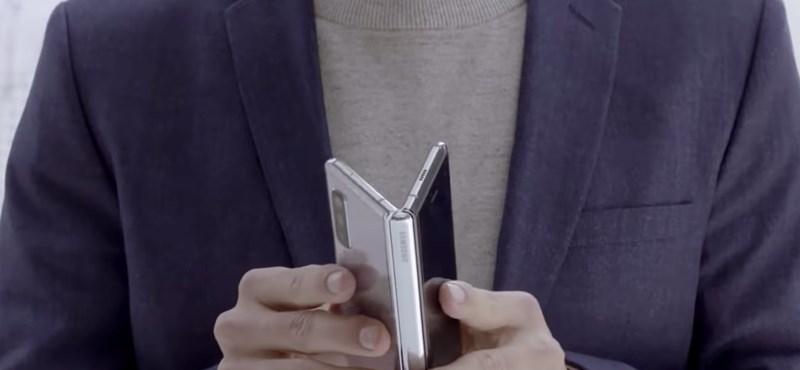 """Bár jön egy Samsung-összehajtható, az """"igazi"""" Galaxy Fold 2-re még várni kell"""