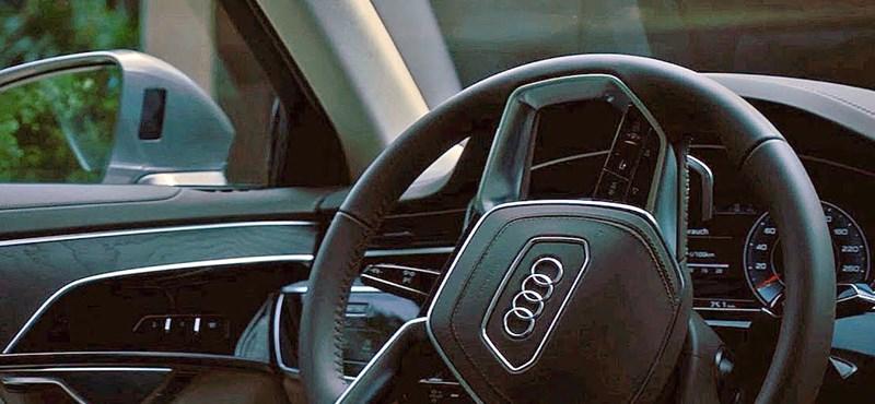 Végre megmutatott magából valamit az új Audi A8, nem is akármit – videó