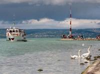 A Balaton vizével együtt egy uszályt is leeresztenek a Sió-csatornán
