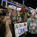 Obama kiadta a jelszót: előre!
