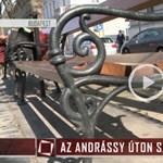 Az Andrássy úton, egy padon szült egy nő