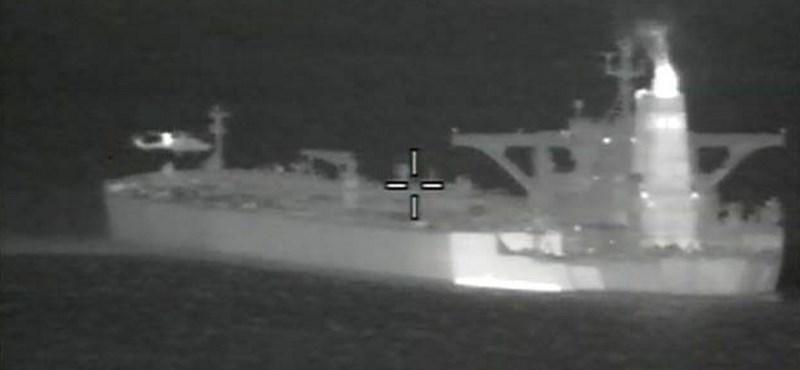 Rakétatámadás ért egy iráni tankert