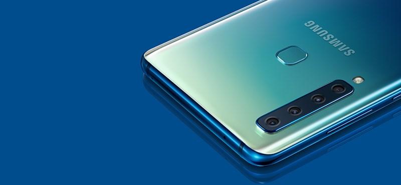 Itt a Samsung új mobilja, az új Galaxy A9-esnek 4 kamerát szereltek a hátára