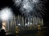 Ilyen volt az idei budapesti tűzijáték - galéria