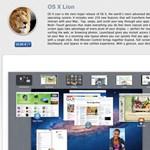 Egymillió Mac OS X Liont töltöttek le 24 óra alatt