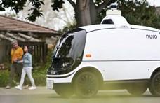 Elindultak élesben is a robotpizzafutárok Amerikában – videó