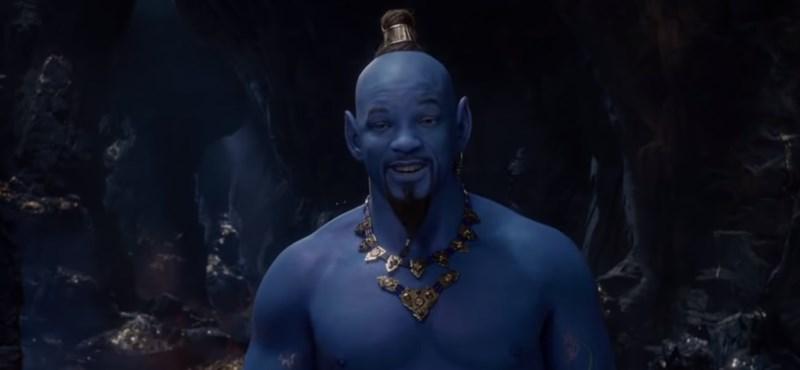 Íme, Dzsini a mémgyárban – kiverte a biztosítékot az élőszereplős Aladdin előzetese