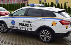 Rendőr Ladát helyeztek forgalomba Homonnán