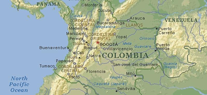 81 emberrel lezuhant egy brazil focicsapat repülője Kolumbiában
