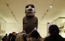 A 150 évvel ezelőtt ellopott szobrukat követelik vissza a húsvét-szigetiek a britektől